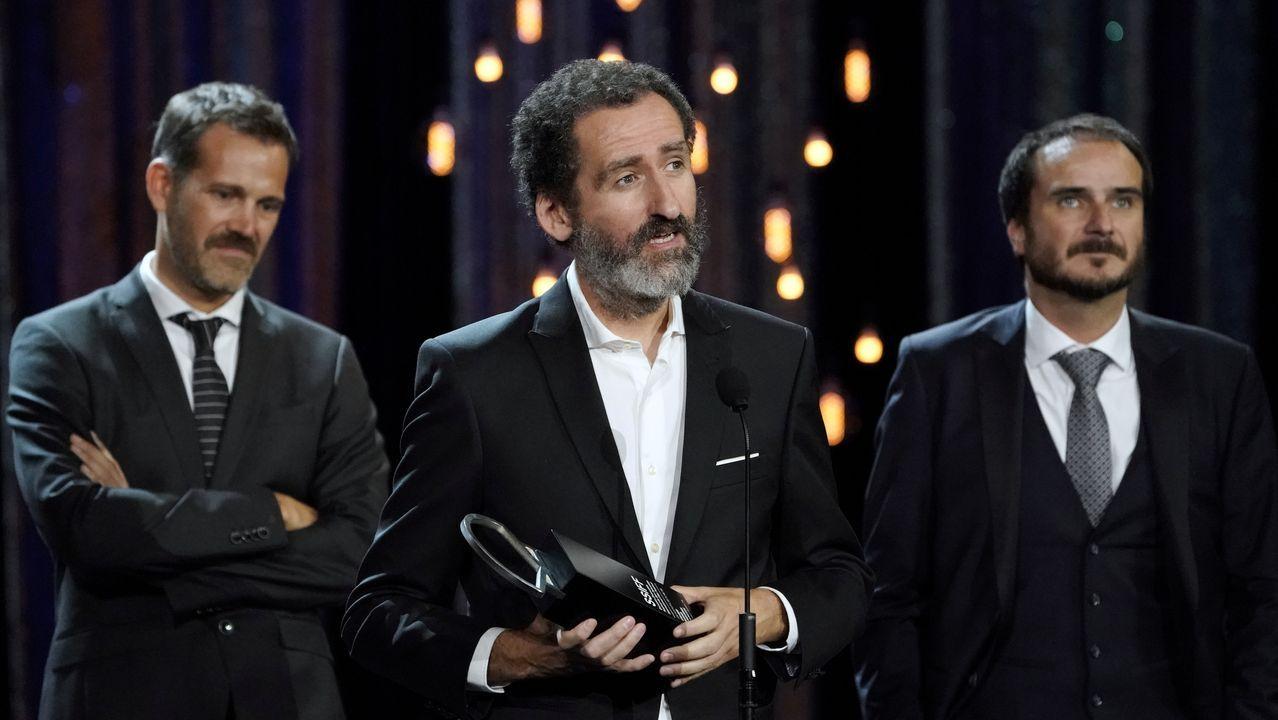 Arregi, Garano y Goenaga fueron Concha de Plata por «La trinchera infinita»