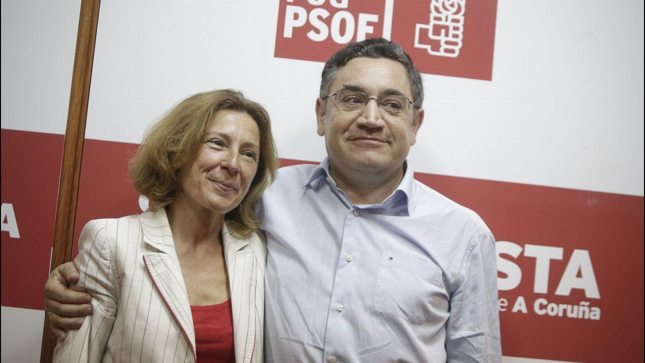 MAR BARCÓN Y JOSE MANUEL DAPENA EN EL 2015