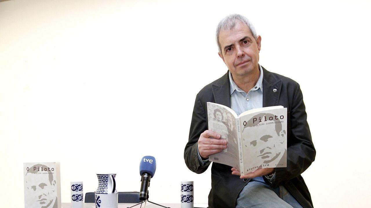O escritor Alfonso Eiré