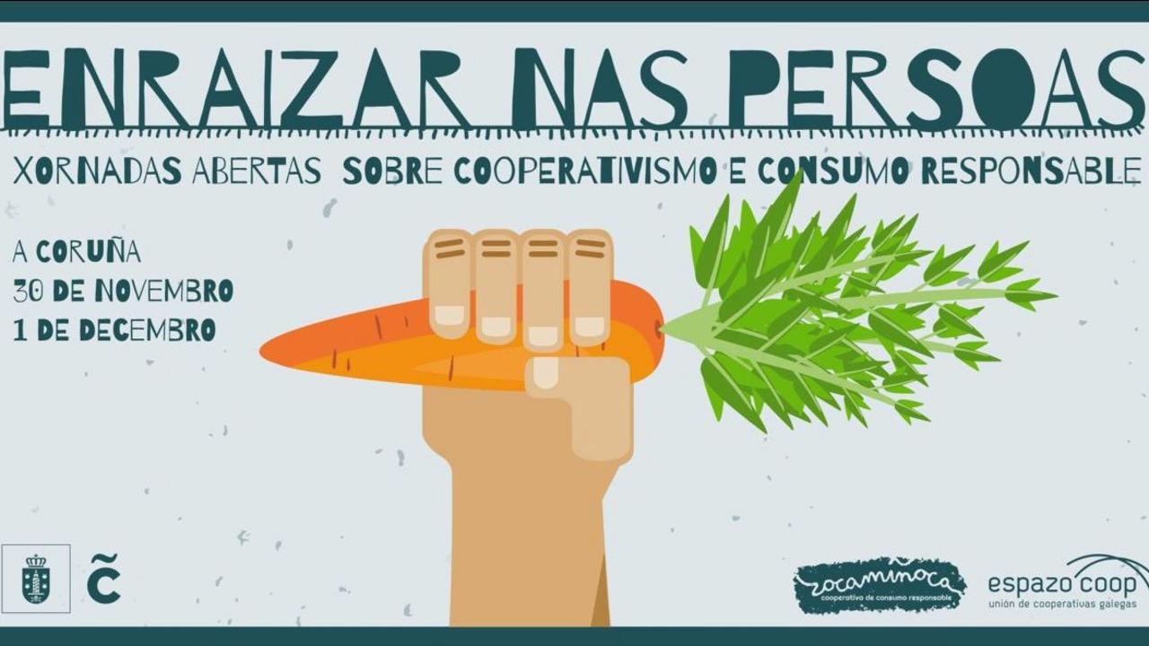 Zocamiñoca reúne este fin de semana en A Coruña a doce organizaciones de economía social y cooperativismo de consumo en unas jornadas abiertas que se desarrollarán en el centro cívico de Monte Alto, el centro municipal de empresas de Papagayo y el mercado ecológico del Campo da Leña