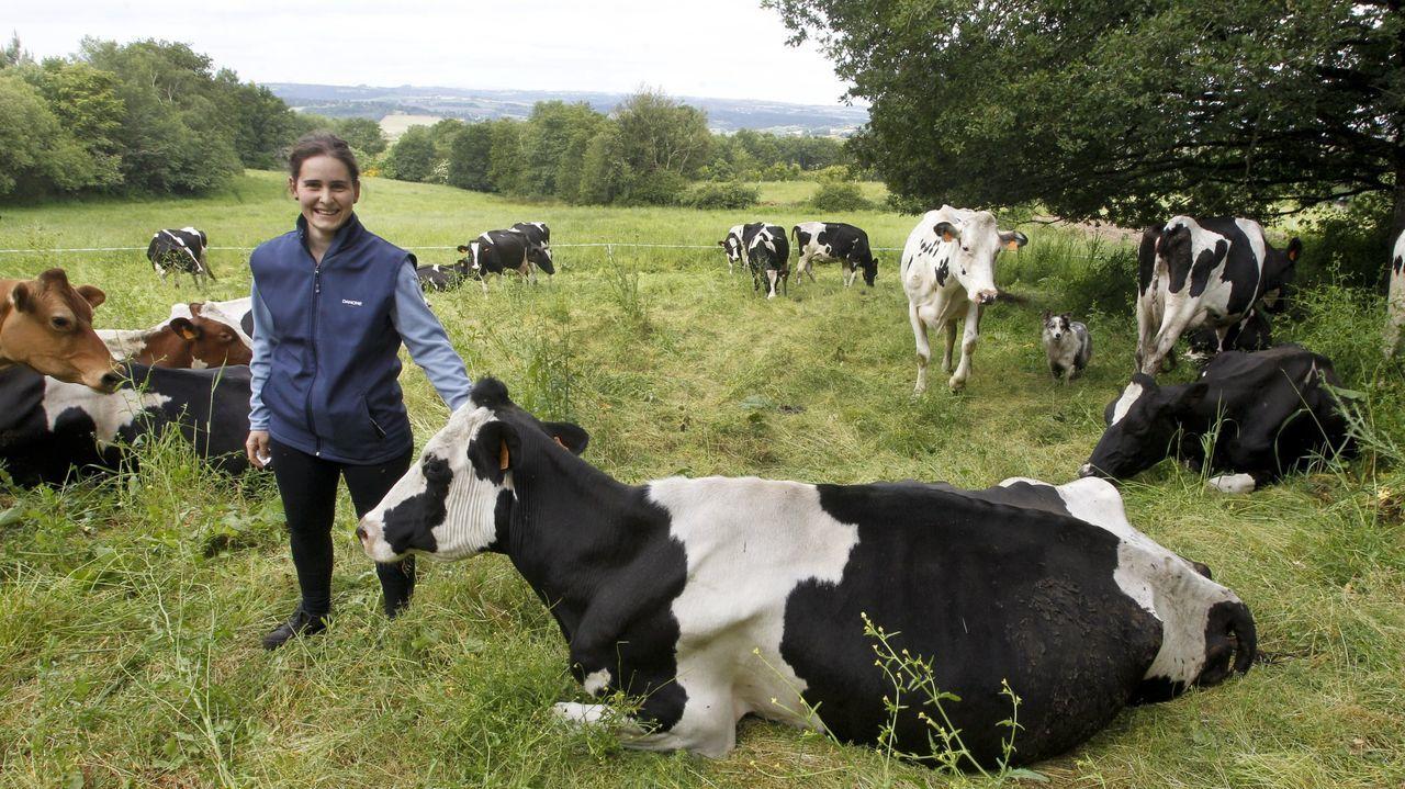 Teresa Simval, ganadera de pastoreo