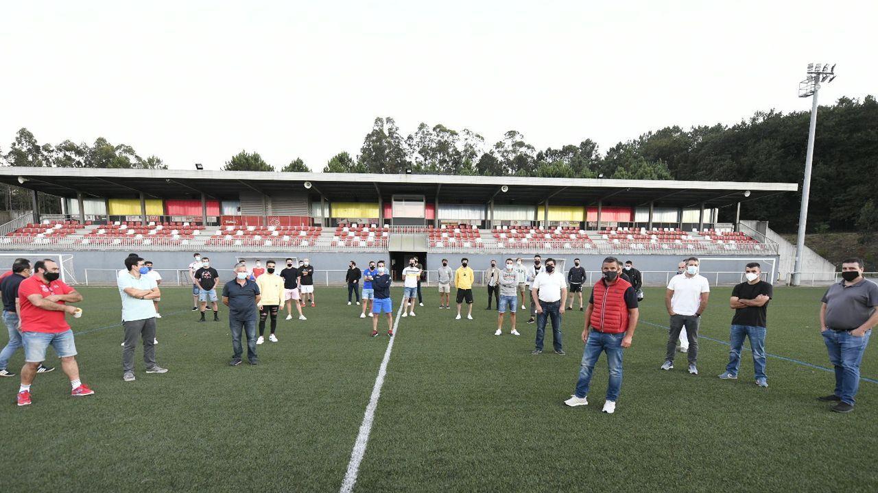 Luisito, entrenador del Pontevedra CF