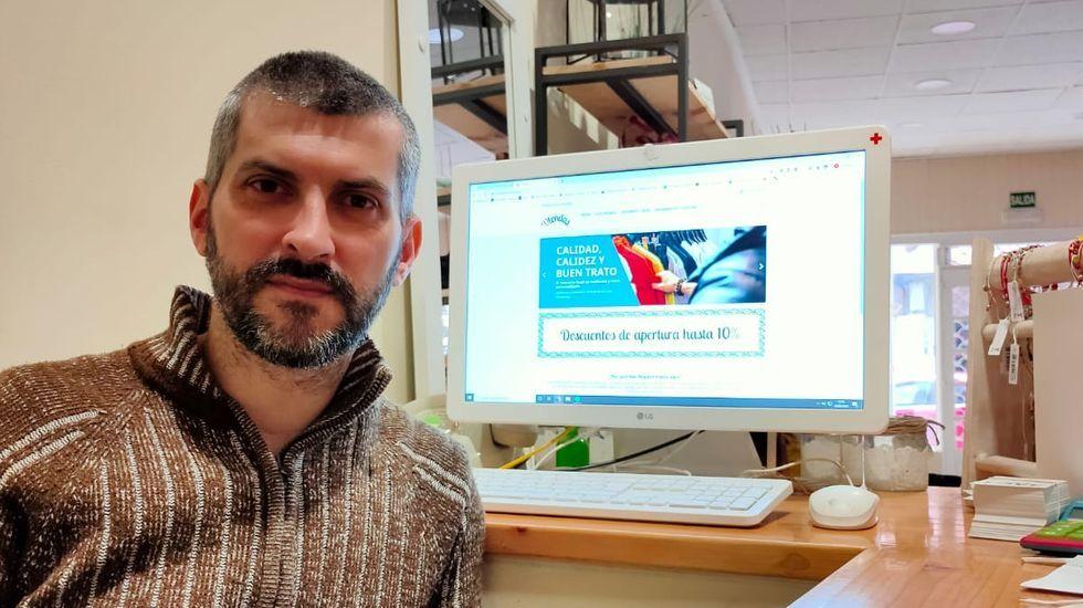 José Antonio Outomuro, gerente de Baamonde, es el impulsor de DTendas