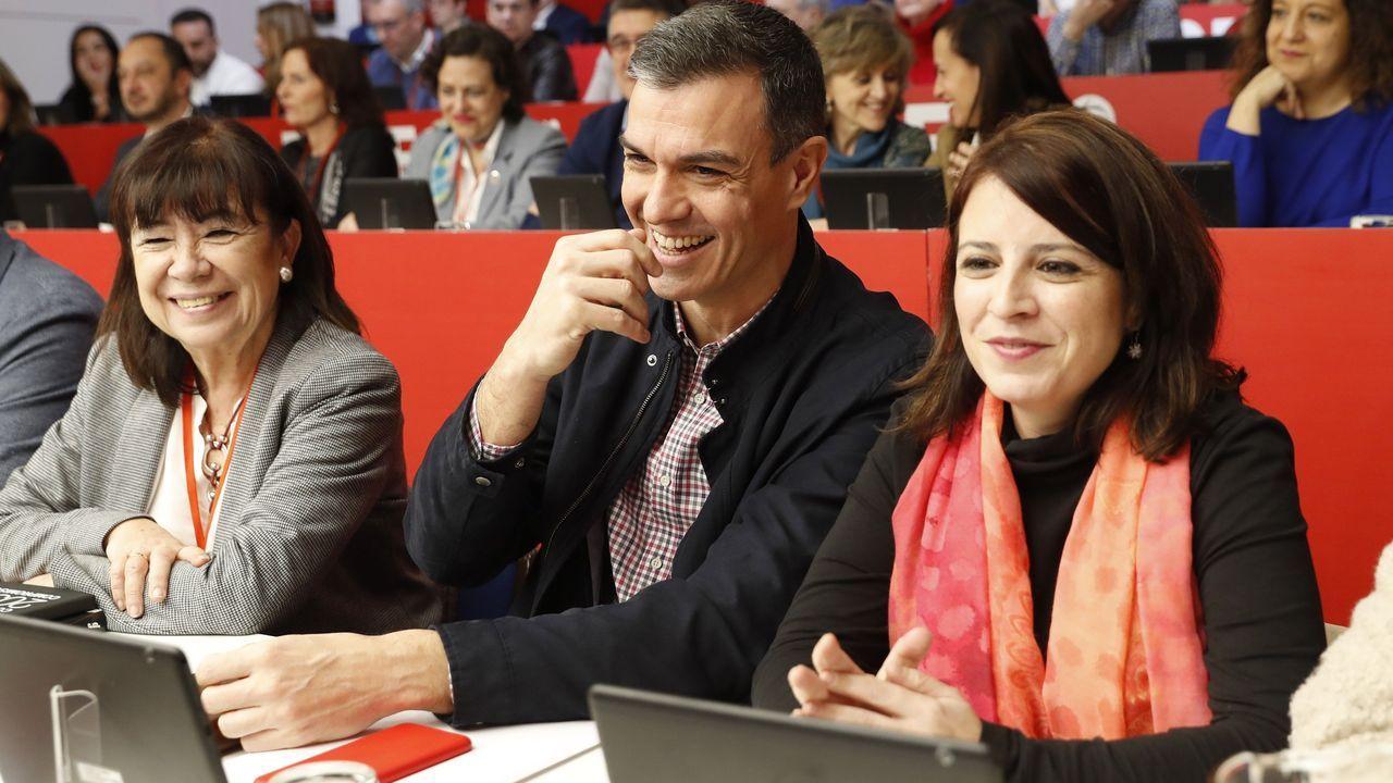 Laboral Ciudad de la Cultura.El presidente de Castilla-La Mancha, Emiliano García Page, este sábado, en el Comité Federal del PSOE