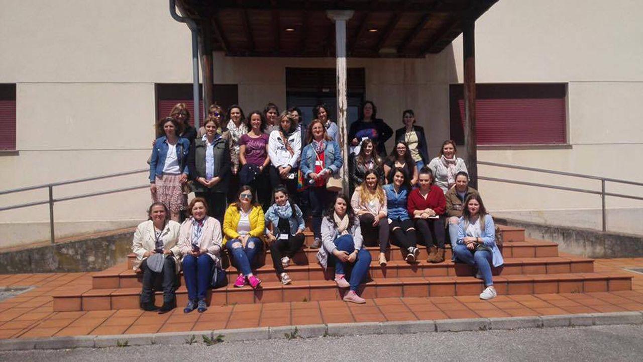 Ganaderas asistentes al primer curso de Ganaderas con Talento, a principios de mayo