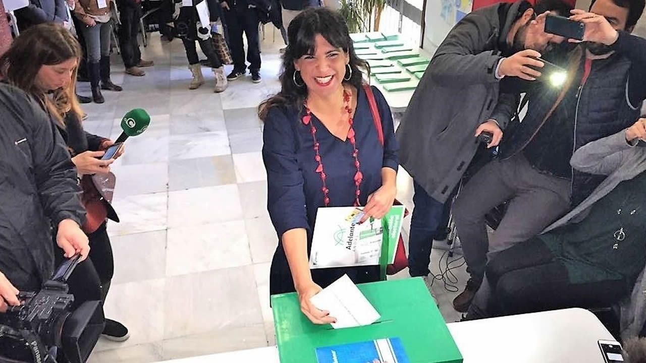 Elecciones en Andalucia. Teresa Rodríguez