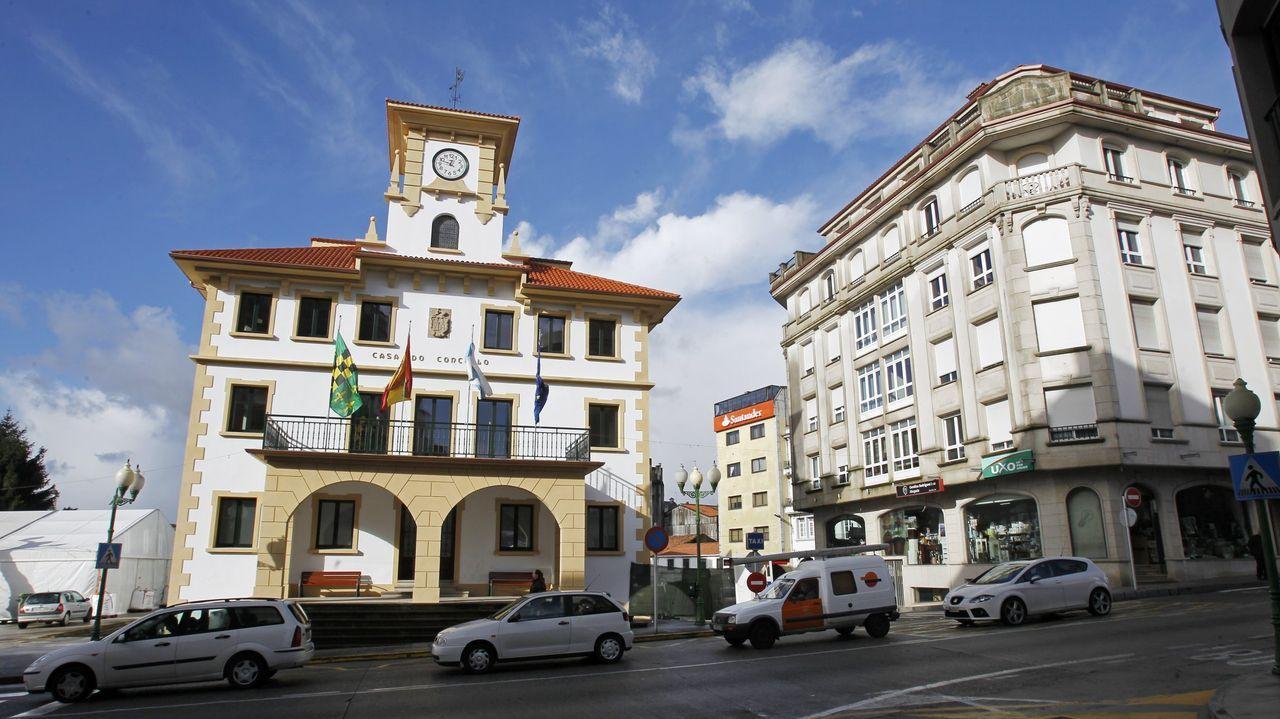 La urbanización de As Saamasas paralizada