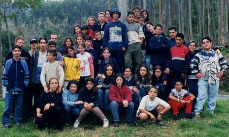 Una imagen de uno de los campamentos de Val de Barcala celebrado en San Roque (Corcubión).