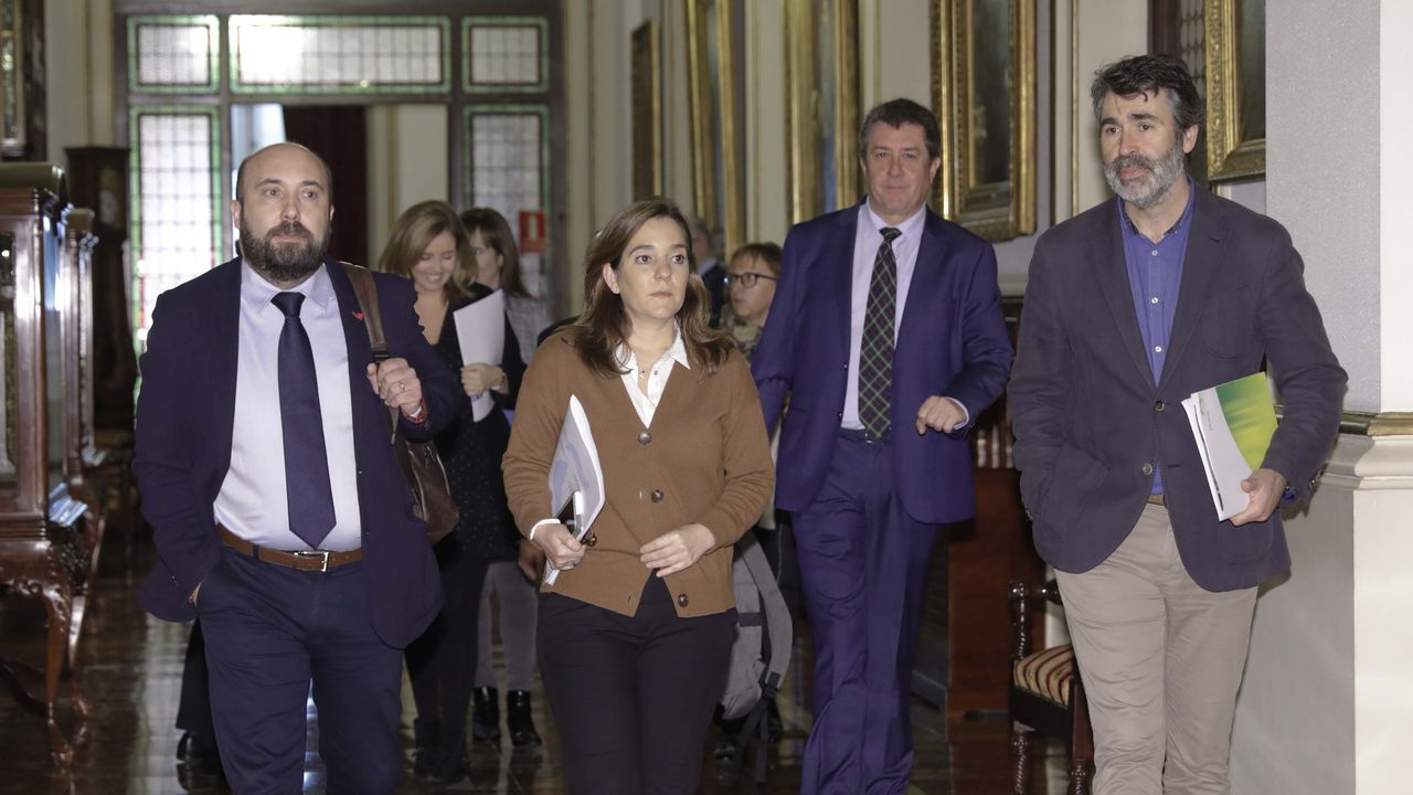 El conselleiro de Industria reunido con representantes de las principales empresas con un elevado consumo eléctrico en Galicia