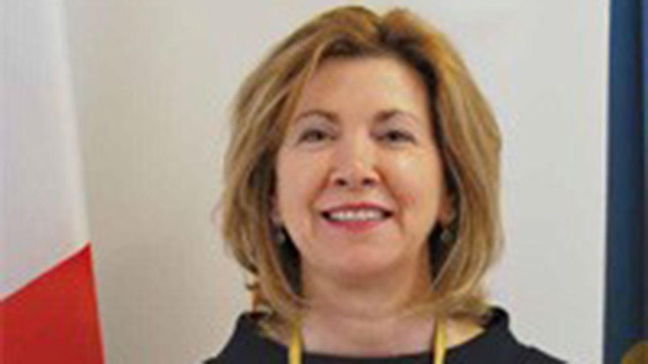 Mejores formas de reciclar.Celia Fernández Fernández, presidenta de Cruz Roja en el Principado de Asturias