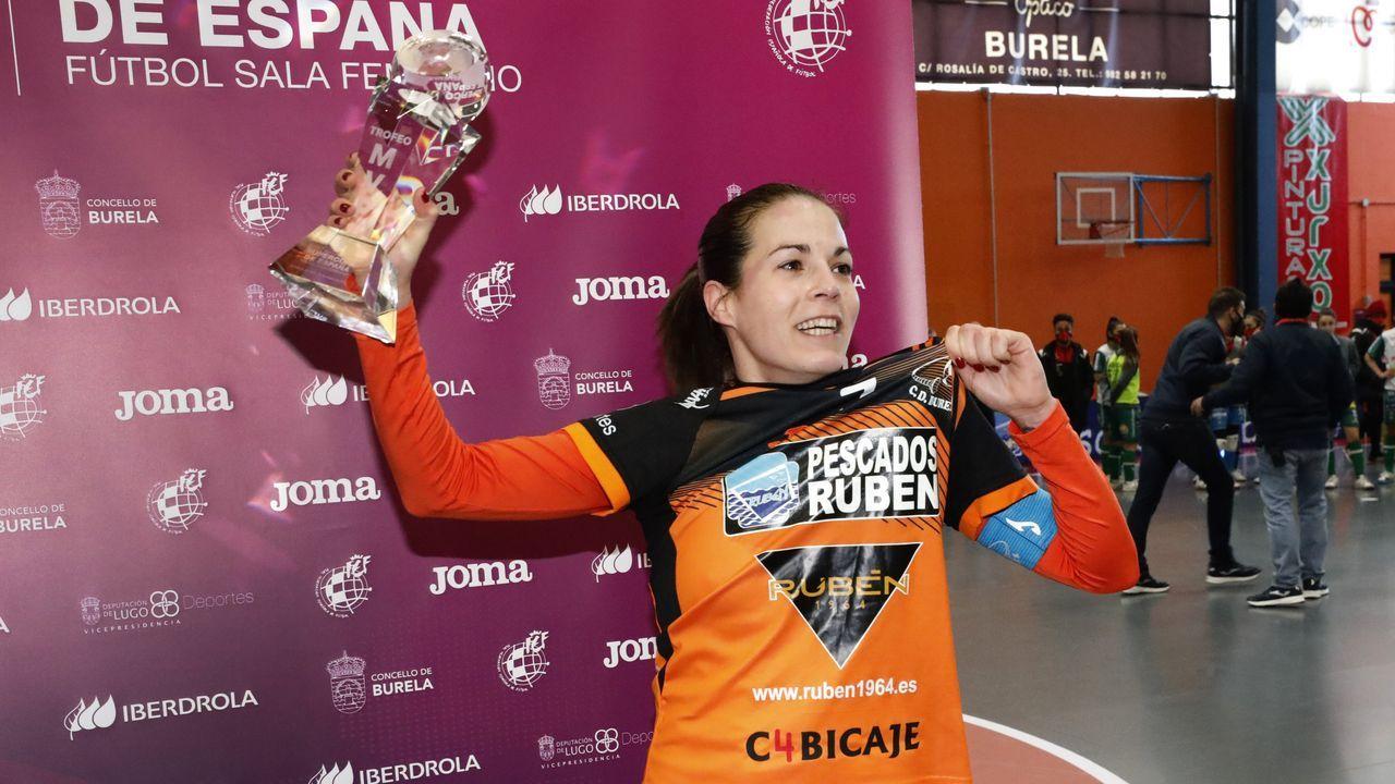 La madrileña anotó un gol y recibió el MVP tras el partido contra el Poio Pescamar