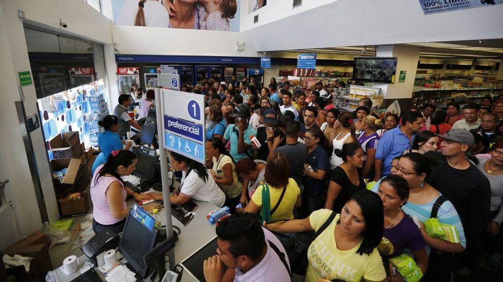Vídeo clandestino de Leopoldo López.El presidente de Venezuela, Nicolás Maduro, durante el programa de televisión «Contacto con Maduro»