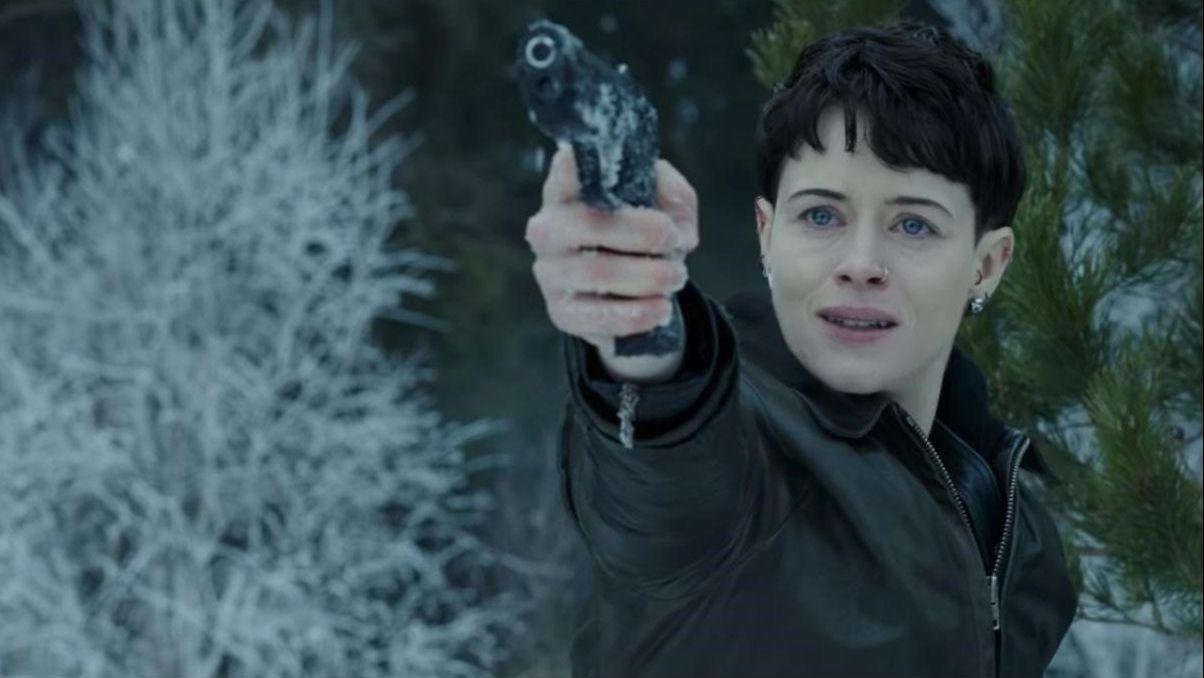 La actriz Claire Foy encarnó a Salander en la adaptación de «Lo que no te mata te hace más fuerte», una de las entregas de Lagercrantz.