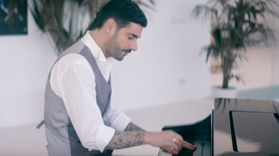 «La casa no es igual», segundo single del nuevo disco de Melendi.Melendi en La Voz