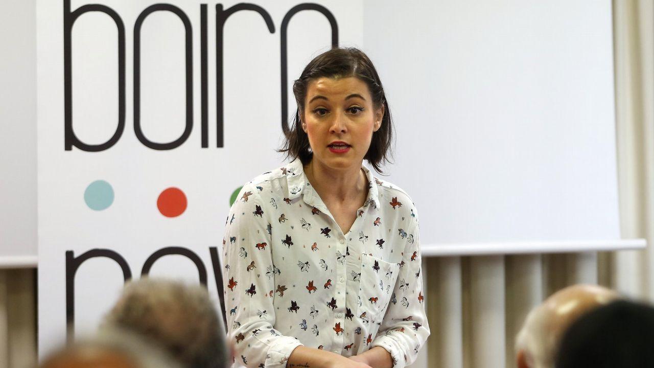 Eva Solla (Parlamento de Galicia). La dirigente de Esquerda Unida es de los diputados gallegos más críticos con Villares, pero también con el partido instrumental, del que se desvinculó EU en las primarias