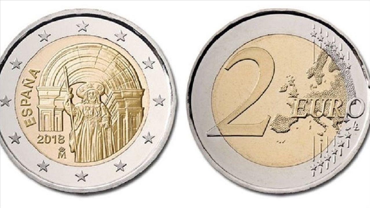 Ya hay una moneda de 2 euros con la imagen de la Catedral de Santiago y la referencia al Camino