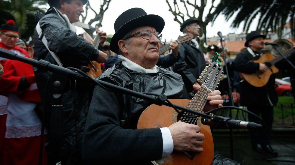 Fiesta choqueira en A Coruña.