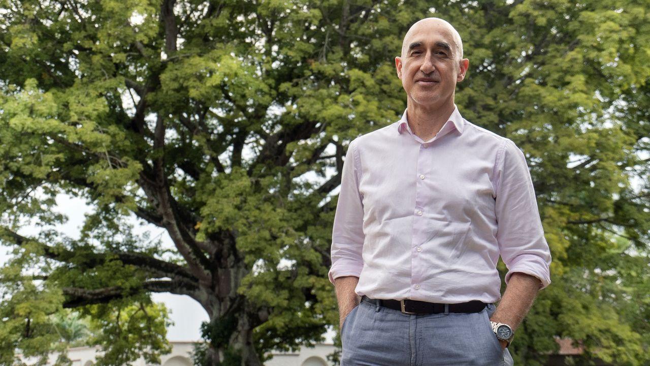 Jose Andrésagradece el 41 Premio por la Paz recibido.Jesús Quintana García