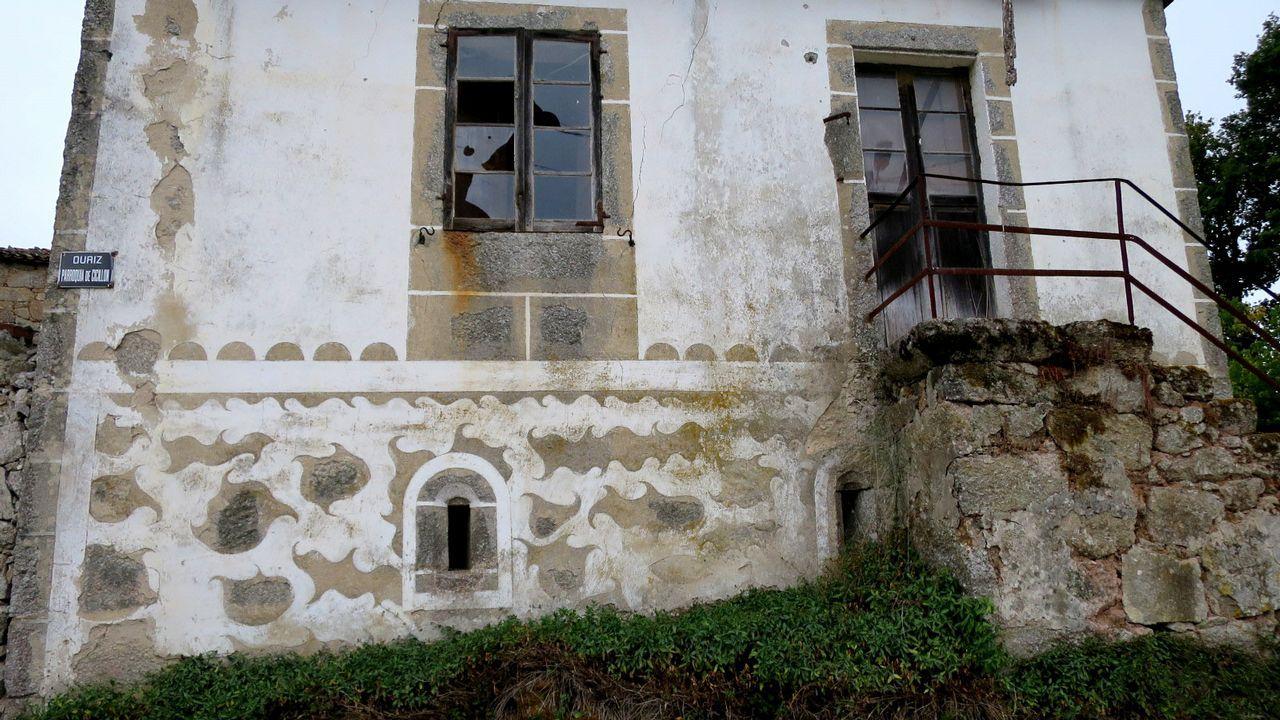 Una casa abandonada en Cicillón, en el municipio de Taboada