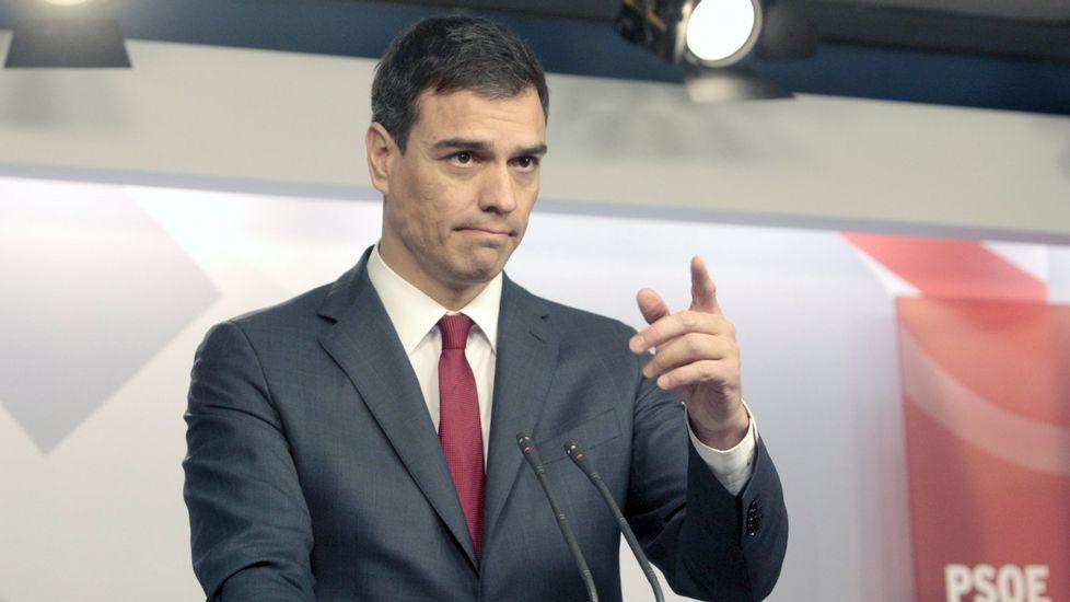 Sánchez advirtió de que tan erróneo es «no mover una coma como liquidar» la Constitución.