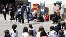 Así celebraron o Día das Letras Galegas no Colexio Fingoi, onde estudou Xela