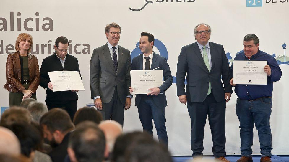 Graduación de los alumnos del Centro Superior de Hostelería de Galicia