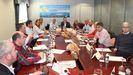 Dirigentes pesqueros en el Encontro Empresarial Expomar celebrado en Burela en el 2018, que este año tendrá lugar el 21 de mayo, tras las Xornadas Técnicas telemáticas del día 20