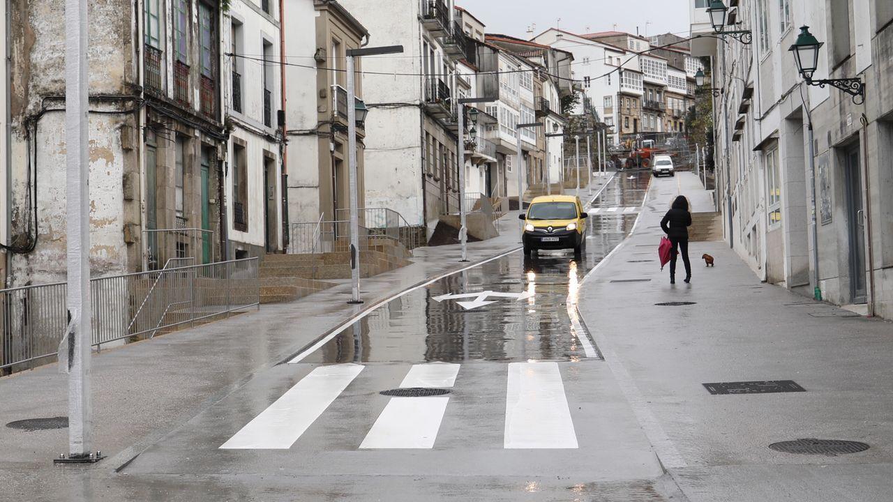 Chequeo a la refoma de la rúa Castrón Douro