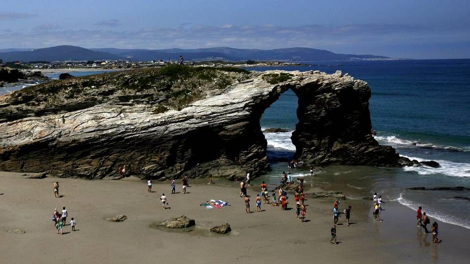 Ribadeo.Playa de Razo (Carballo)