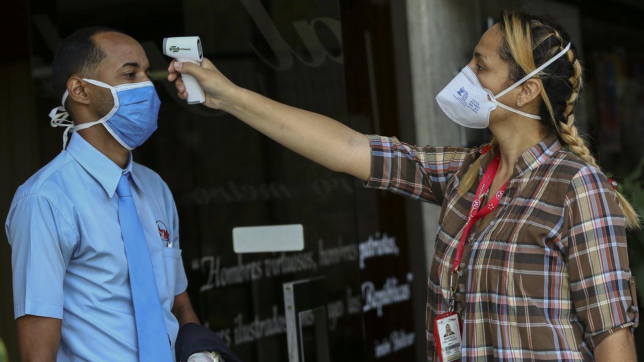 Las mediciones de temperatura también se han convertido en socorridas en Venezuela