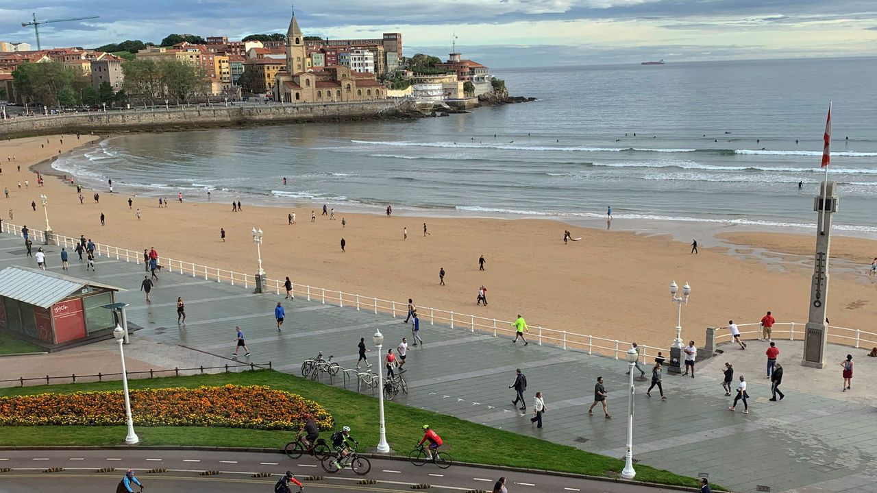 Asturias, de cascada en cascada.Gijón