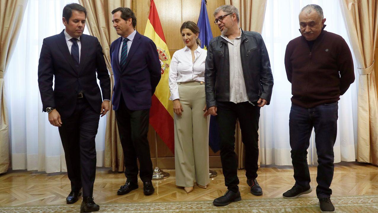 Los candidatos de las siete ciudades gallegas en las municipales del 2019; tras los comicios varios de ellos han tenido que dar un paso atrás