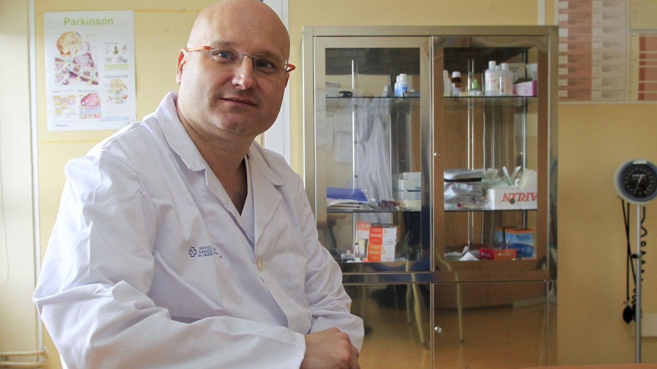 El balance de once sanitarios cuando se cumple un año de la llegada del covid a Ferrol.Miguel Llaneza, neurólogo
