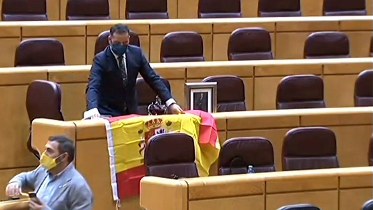 Sigue en directo el actodel Día de la Fiesta Nacional.Los expresidentes de la Generalitat Quim Torra, Carles Puigdemont y Artur Mas, hoy en una rueda de prensa conjunta en la Casa de la Generalitat en Perpignan (Francia)