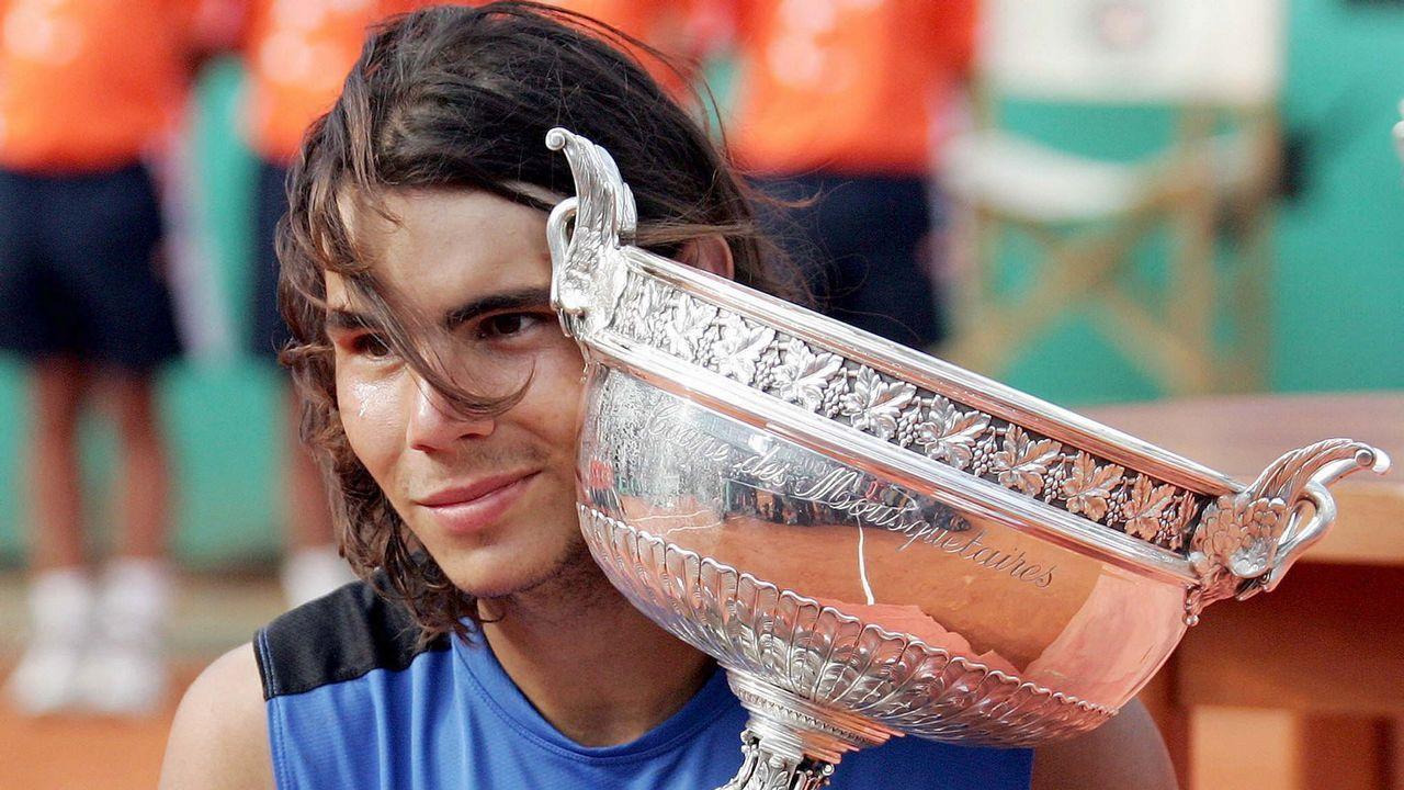 Nadal ganó su segunda Copa de los Mosqueteros en 2006 tras derrotar a Federer