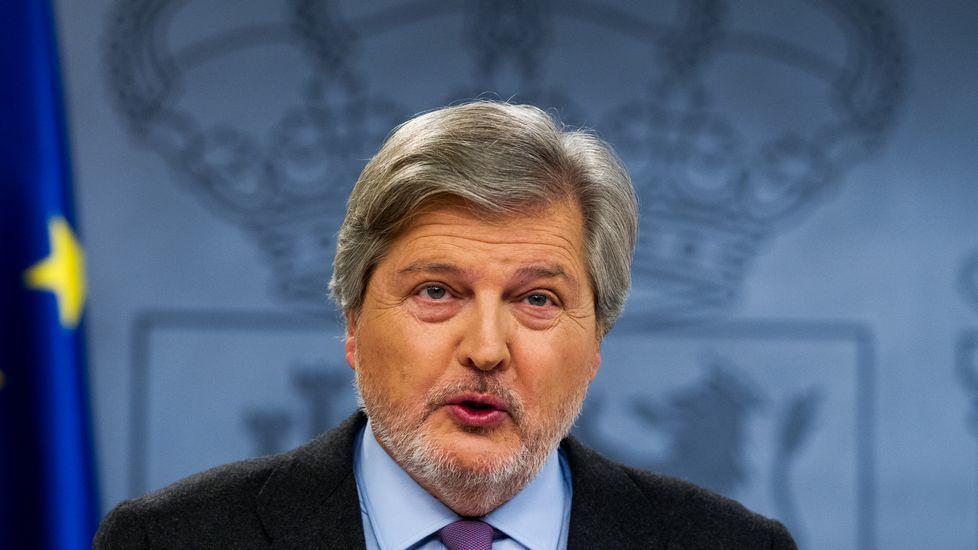 Méndez de Vigo fue el encargado de trasladar la opinión del Gobierno