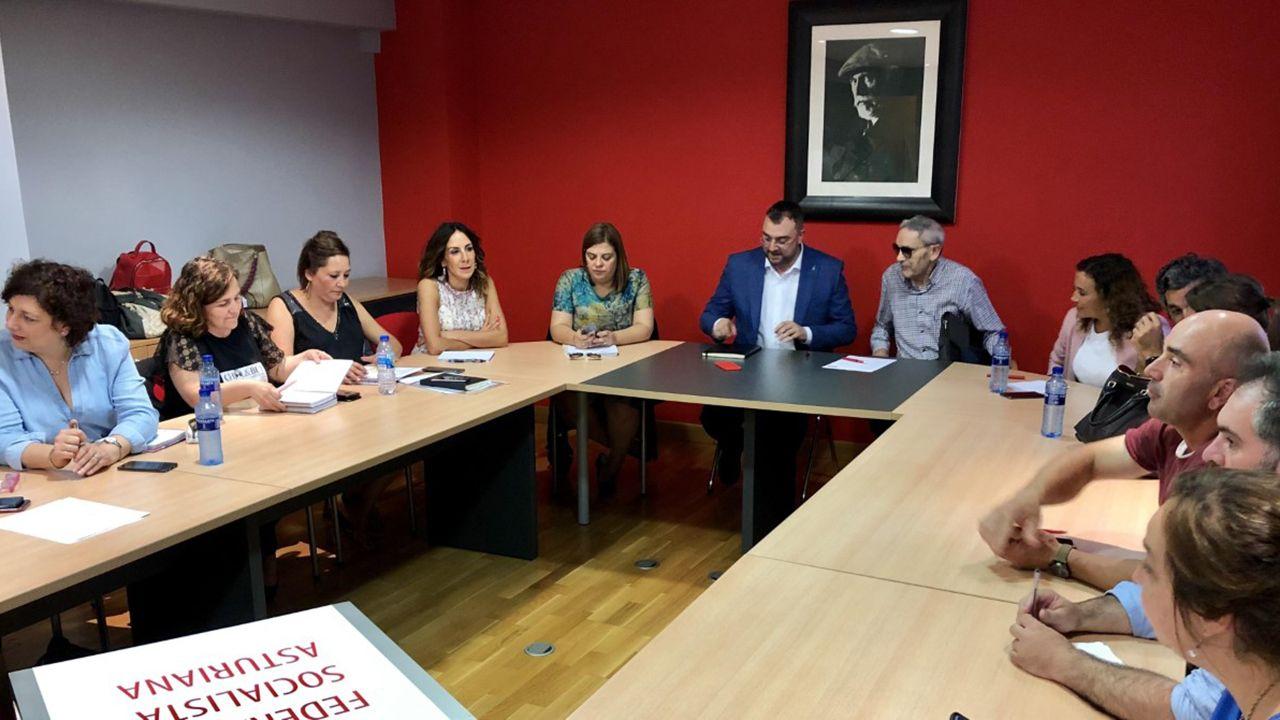 Reunión de la Comisión Ejecutiva Autonómica de la FSA-PSOE