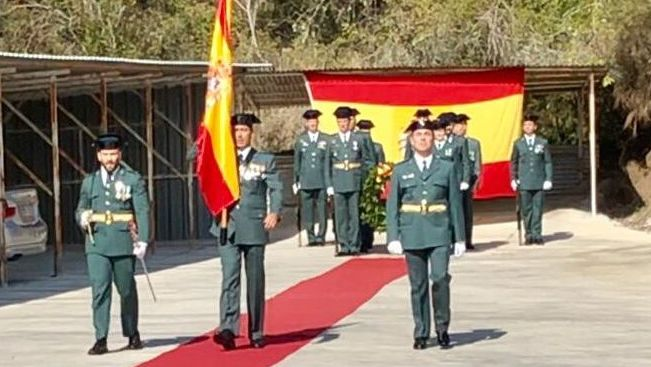 Celebración del Pilar en el cuartel de Verín