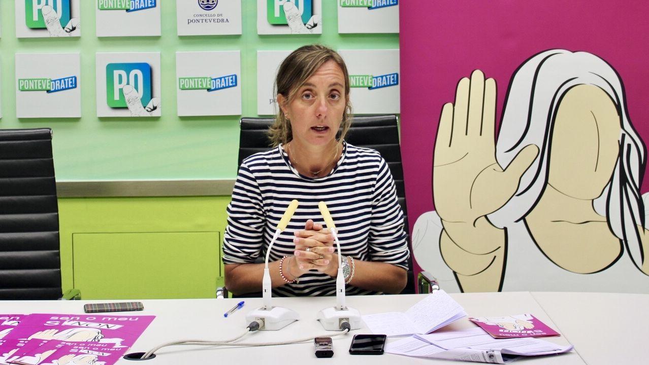 Paloma Castro Rey. Número 3 del PSOE por Pontevedra. 1981. Abogada. Es concejala y se encarga de la Secretaría de Igualdade del partido en su ciudad natal