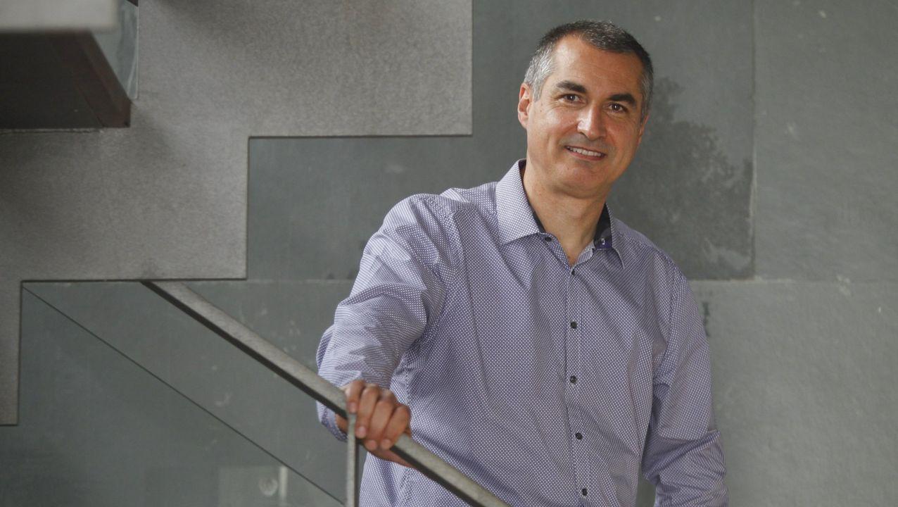 El profesor Ginés Nicolás es el director del Campus Industrial de Ferrol