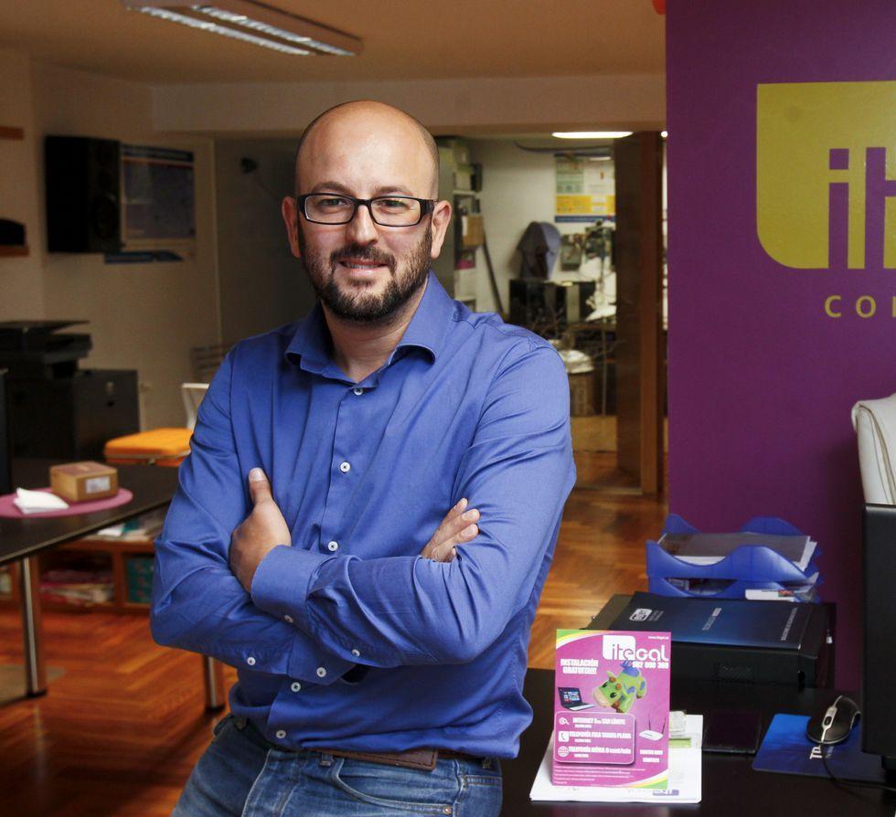 Raúl González, director técnico de la empresa lucense Itegal.