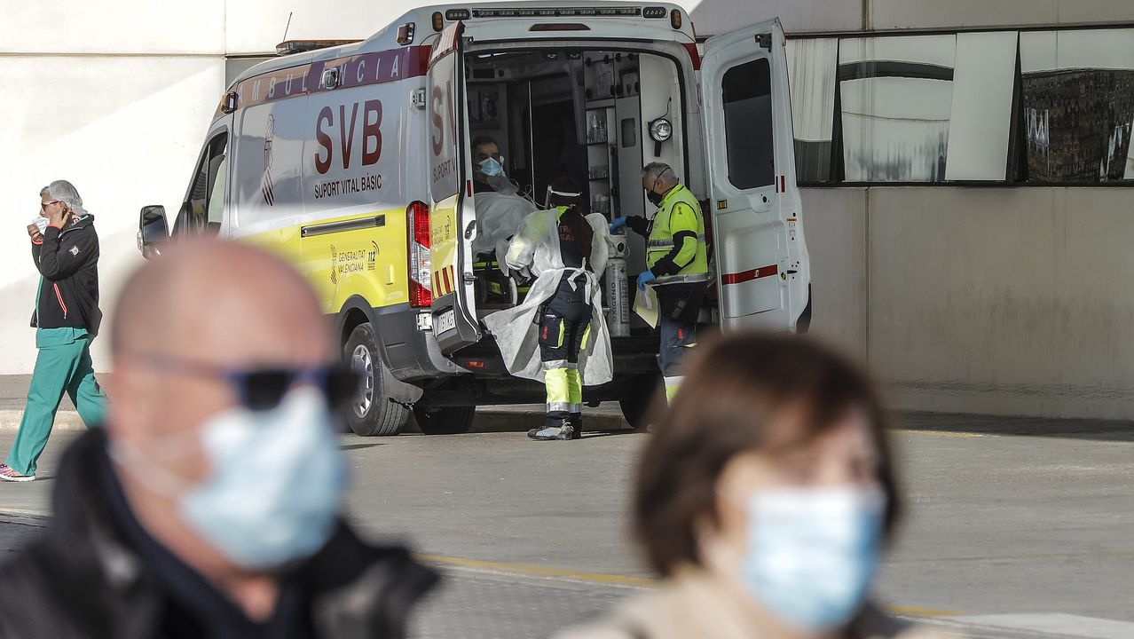 Urgencias del Hospital de La Fe de Valencia