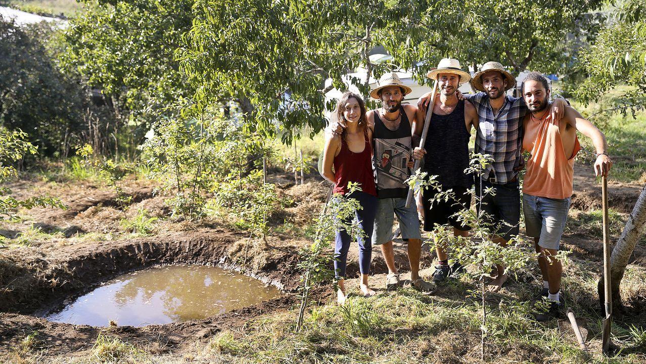 El sueño de la permacultura cala en Galicia