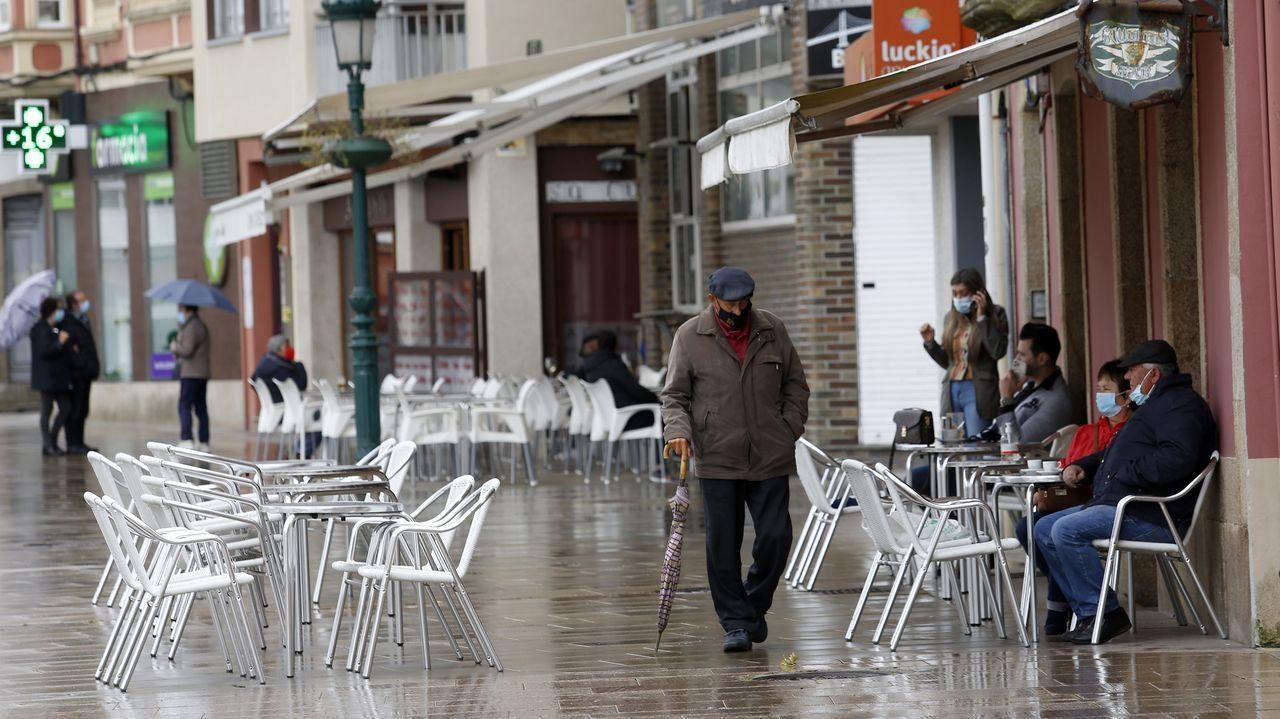 Ribeira entró el 21 de abril en el nivel alto de restricciones