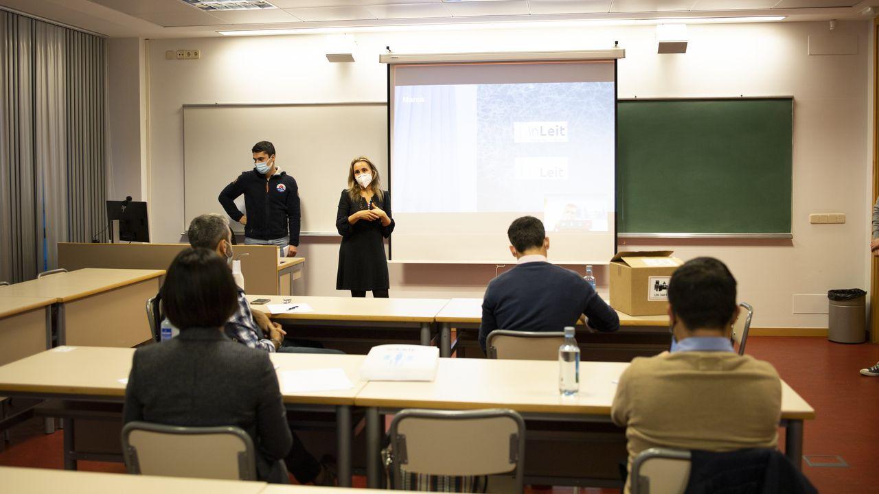 En directo: Sanidade y Educación explican el plan de vacunación de los profesores en Galicia.Rafa y Alba, dos alumnos del IES Blanco Amor de Ourense, recorren las instalaciones del centro, de los jardines a los laboratorios, para explicar a los internautas las ventajas de estudiar ahí