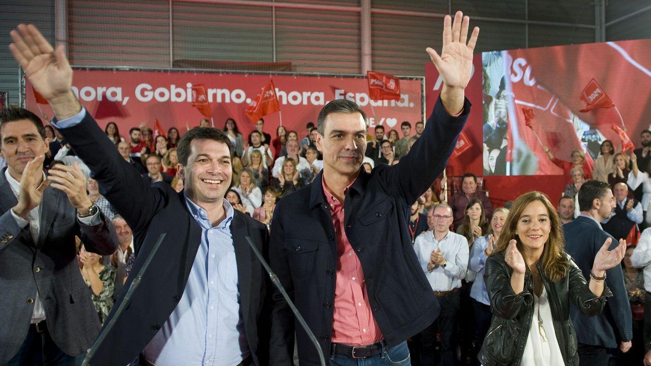 Pedro Sánchez apela al voto de los indecisos en A Coruña