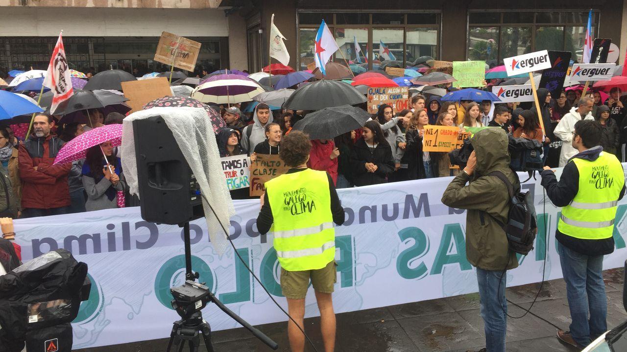 Pontevedra sale a la calle por la emegrencia climática