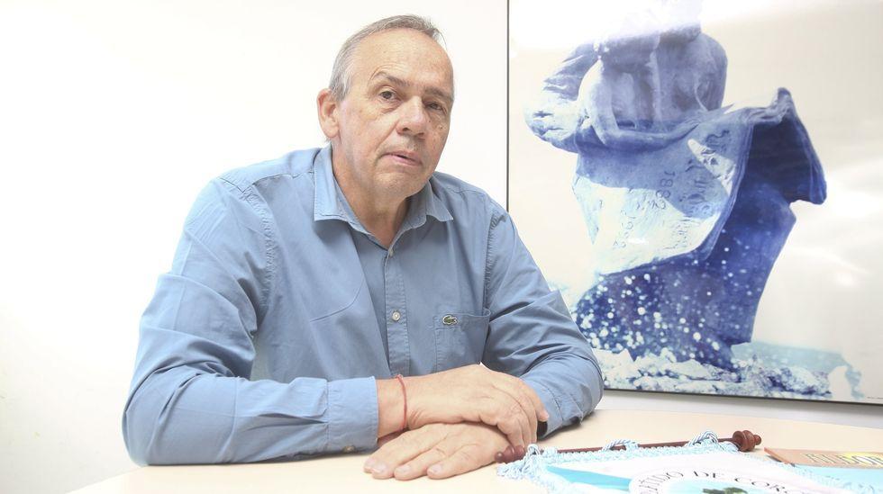 Retornados emprendedores.Carlos Óscar Ameijeiras, presidente de la entidad ABC