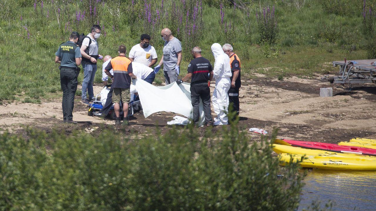Muere un niño de 11 años ahogado en el embalse de A Fervenza, en Mazaricos