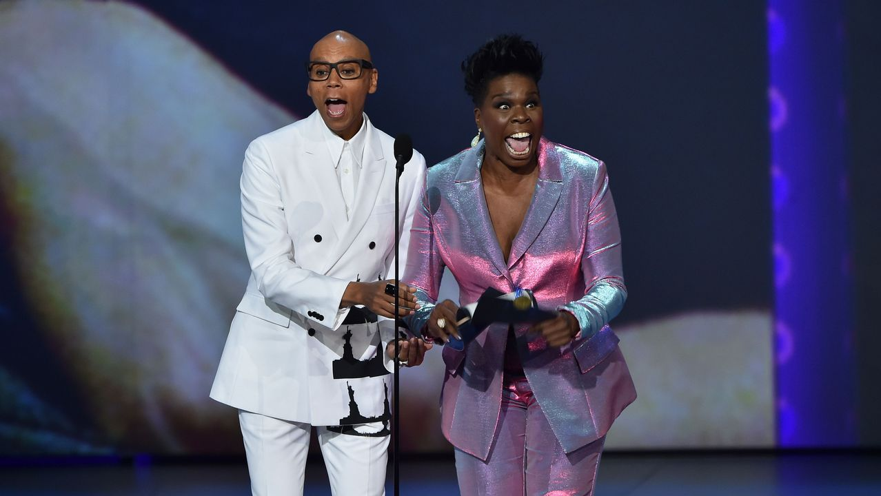 Emmy 2018: RuPaul y Leslie Jones